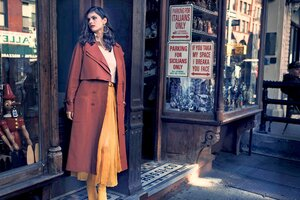 Alexandra Daddario New York Post Photoshoot