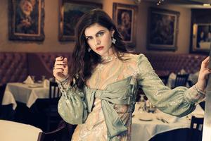 Alexandra Daddario Photoshoot By Kurt Iswarienko