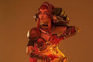 Alexstrasza World Of Warcraft Cosplay 4k Wallpaper