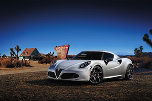 Alfa Romeo 4C Car Wallpaper