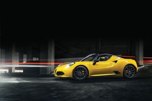 Alfa Romeo 4C Spider 5k Wallpaper