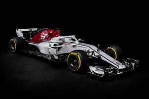 Alfa Romeo Sauber F1 F1 2018 4k
