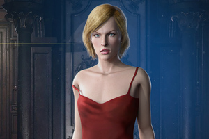 Alice Resident Evil 3 2020 Wallpaper