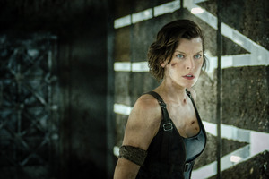 Alice Resident Evil Wallpaper