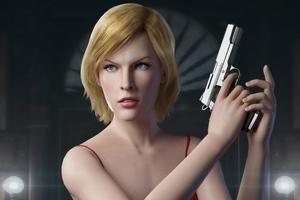 Alice Resident Evil Game 4k Wallpaper
