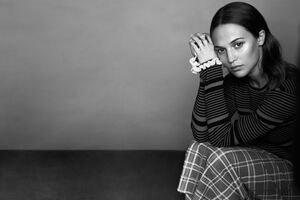 Alicia Vikander Marie Clarie 2018 Wallpaper