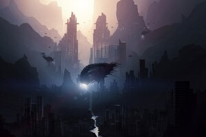 Alien Invasion Wallpaper