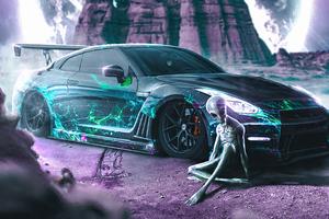 Alien Ride Wallpaper