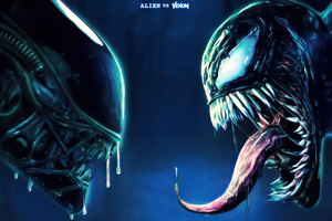 Alien Vs Venom Wallpaper