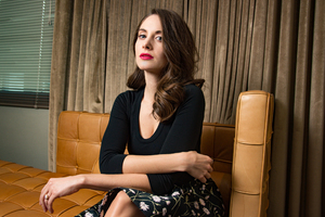 Alison Brie WWD 2017 Latest