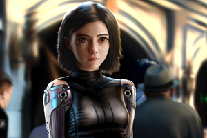 Alita Angel 4k Wallpaper