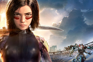 Alita Battle Angel 12k Wallpaper