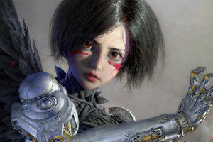 Alita Battle Angel 2020 Wallpaper