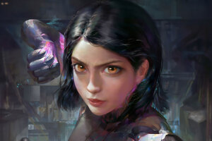 Alita Battle Angel 4k Art Wallpaper
