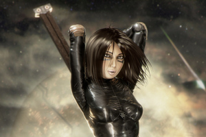 Alita Battle Angel 4k Artwork