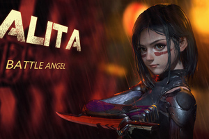 Alita Battle Angel Artworks