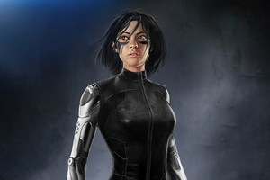 Alita Battle Angel Fight Suit 4k Wallpaper