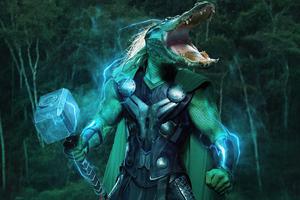 AlligaThor Loki 4k Wallpaper