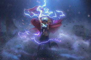 Almighty Thor 5k Wallpaper