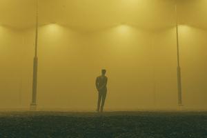 Alone Boy In Parking Lot 4k