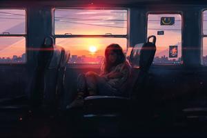 Alone Bus Ride
