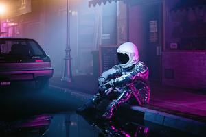 Alone Nights Of Astronaut 5k