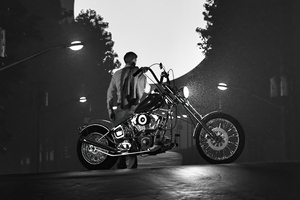 Alone Rider 4k