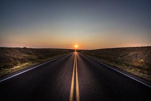 Alone Road Sun 5k
