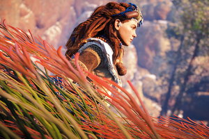 Aloy Horizon Dero Dawn Autumn 4k