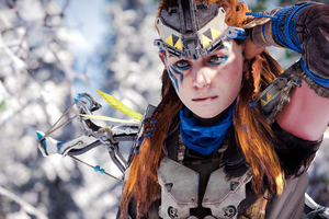 Aloy Horizon Zero Dawn 2021 4k