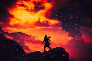 Aloy Horizon Zero Dawn Game 5k Wallpaper