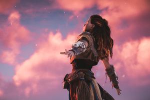 Aloy Horizon Zero Dawn Videogame 2019 4k