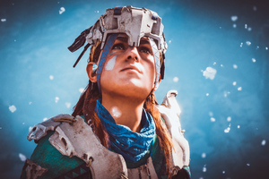 Aloy In Horizon Zero Dawn 4k Wallpaper