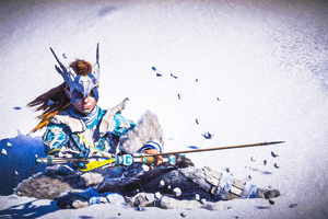 Aloy Snow Archer Horizon Zero Dawn 4k