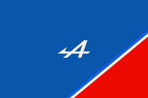 Alpine F1 Logo Minimal Wallpaper
