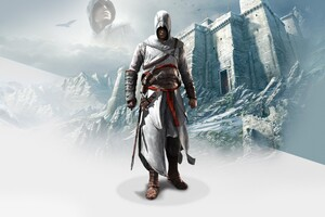 Altair In Assassins Creed 2 Wallpaper