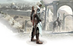 Altair In Assassins Creed Wallpaper