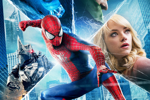 Amazing Spiderman 2 8k Wallpaper
