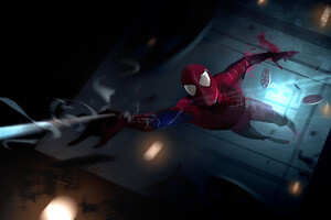 Amazing Spiderman Artwork HD