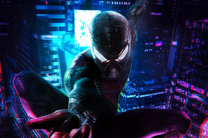 Amazing Spiderman Cyberpunk