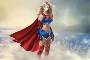 Amazing Supergirl Wallpaper