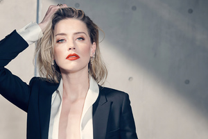 Amber Heard 2020 4k Wallpaper