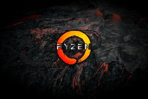 AMD Logo Ryzen 4k Wallpaper