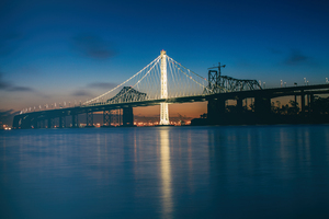 America Bay Bridge 5k Wallpaper