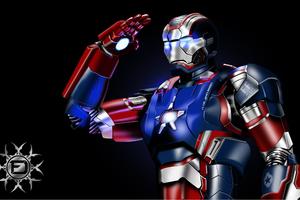 American War Machine Iron Patriot