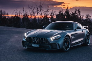 AMG GTR Mercedes Benz 2018