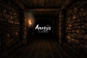 Amnesia Typography Wallpaper