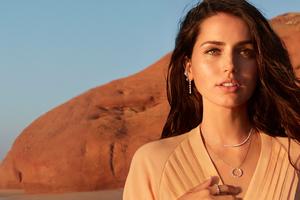 Ana De Armas Natural Diamond Council Campaign 2020