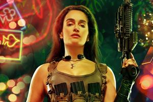 Ana De La Reguera As Cruz In Army Of The Dead Character Poster 5k