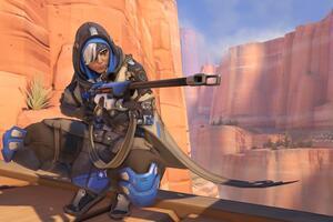 Ana Overwatch Character Wallpaper